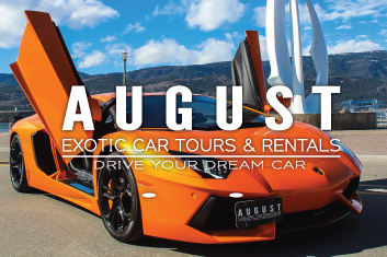 Riot Marketing - August Exotic Car Tours & Rentals