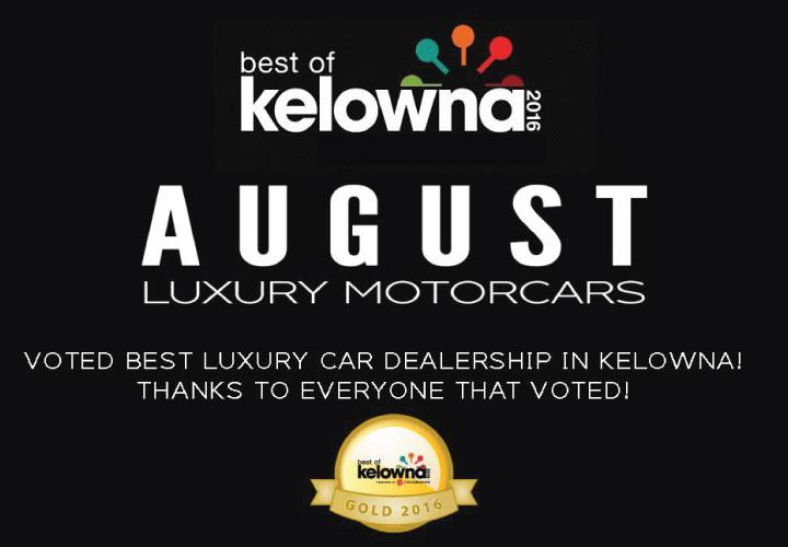August Luxury Motorcars Best Of Kelowna