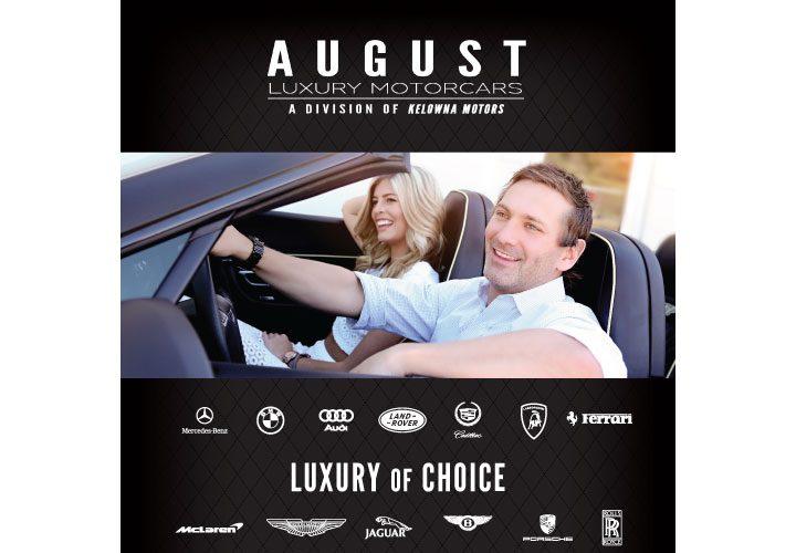 August Luxury Motorcars Banner