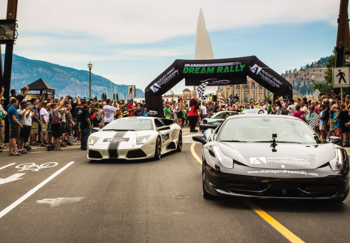 August Luxury Motorcars Dream Rally