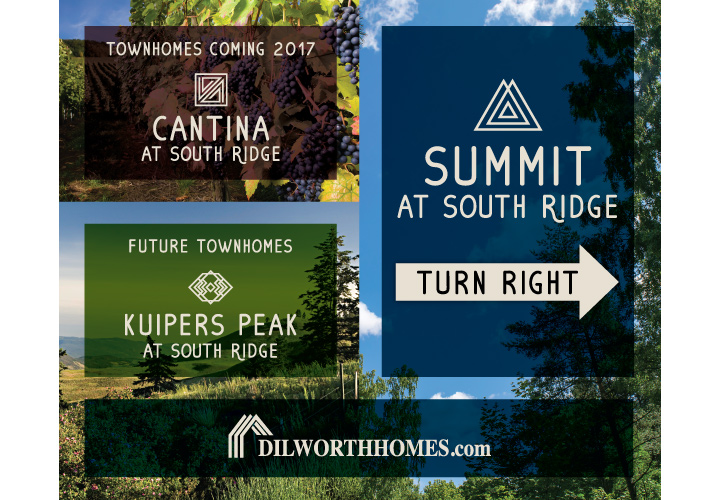Summit At South Ridge Directional Sign