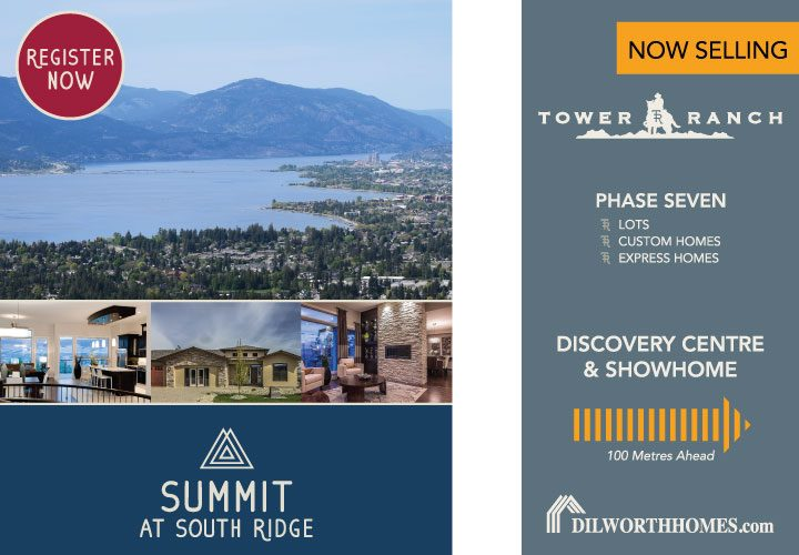Summit At South Ridge Advert And Tower Ranch Sign
